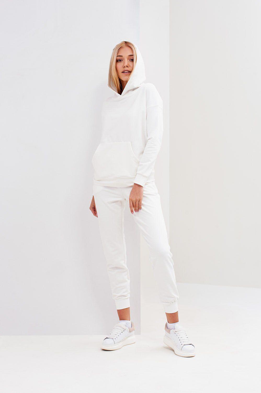 твидовый костюм женский белый